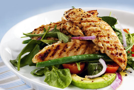 Hähnchen-Salat Metabolic-Balance